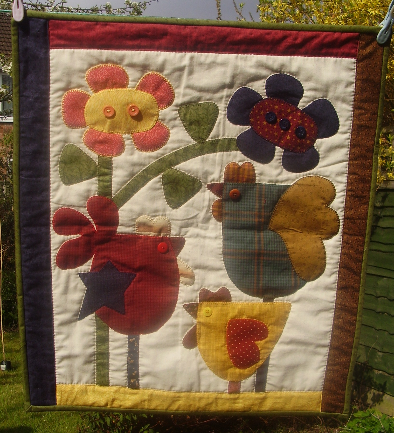 Chook Shed Pattern Company – Patchwork Palace : red shed quilting - Adamdwight.com