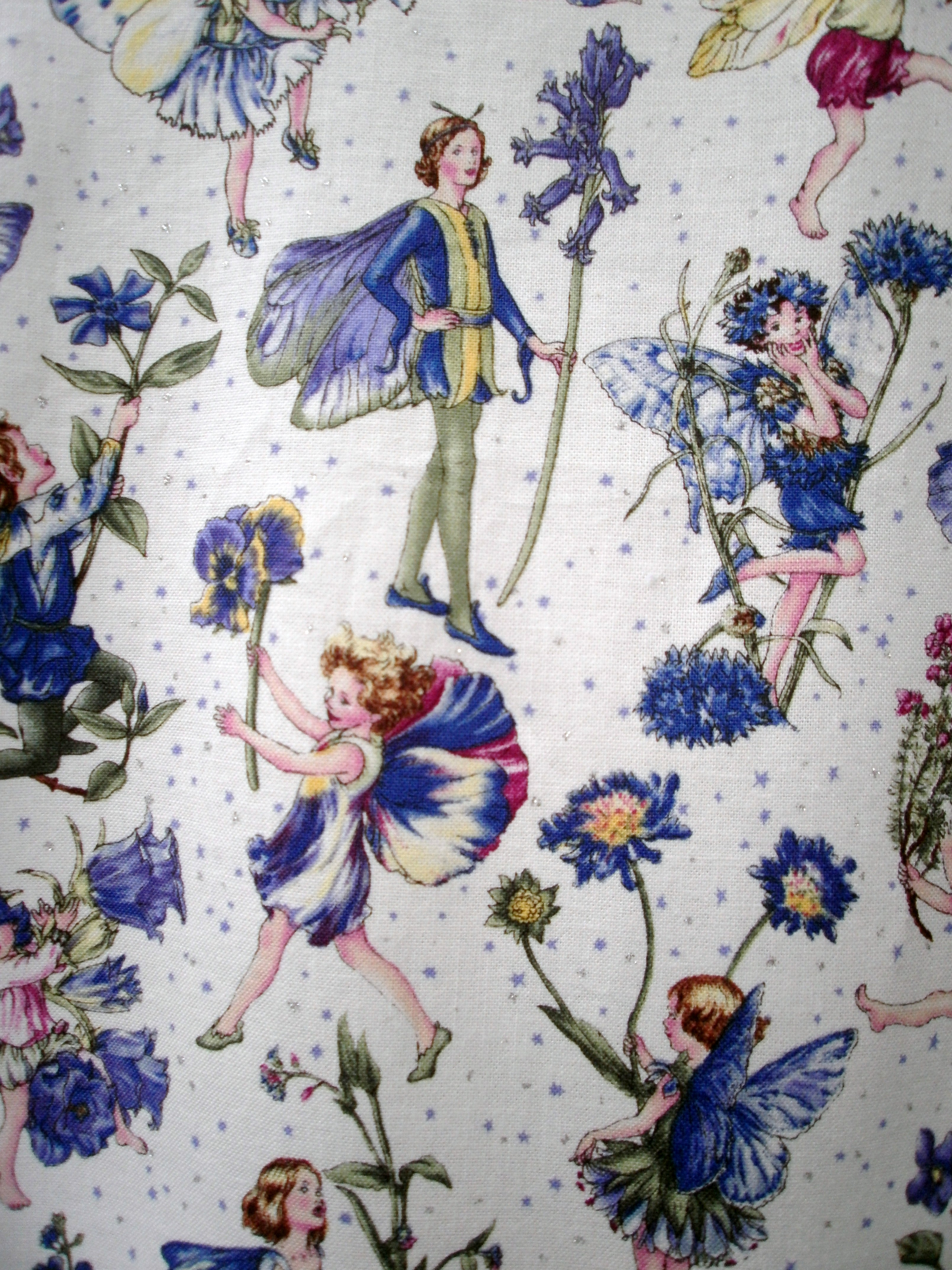 Outer flower fairy fabric 2
