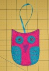 09Nov2011 Finished Owl Ornament